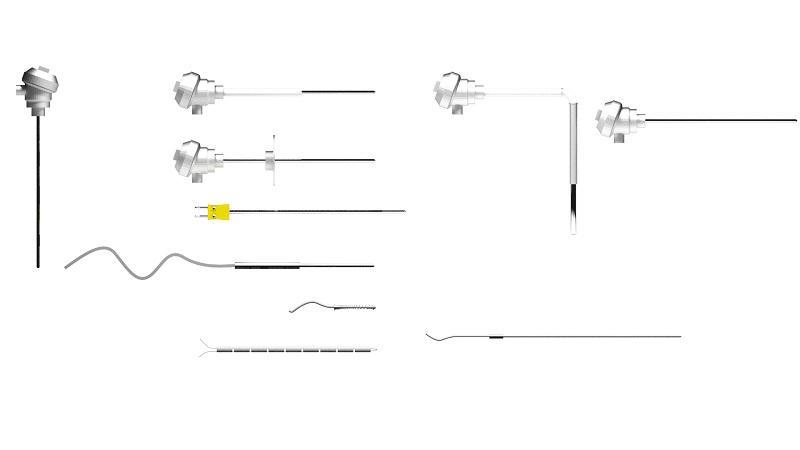 Fabricantes sensor pt100 de temperatura
