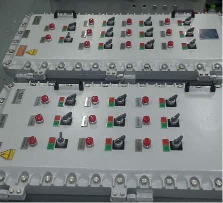 Painel elétrico de distribuição