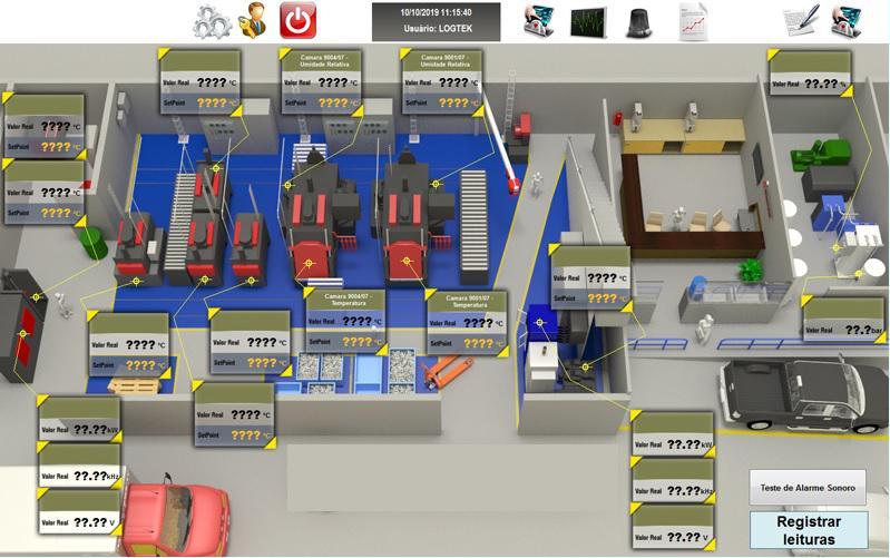 Prestação de serviços de automação industrial