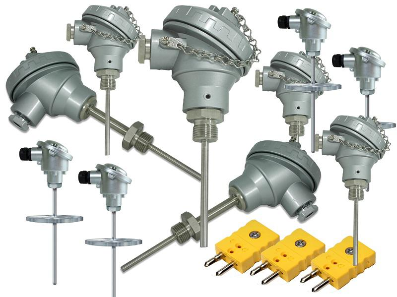 Sensor de temperatura industrial