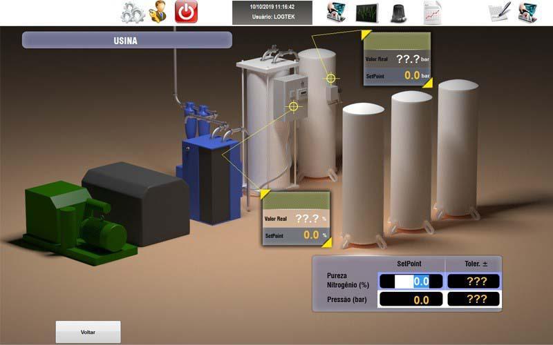 Sistemas supervisórios para instalações industriais