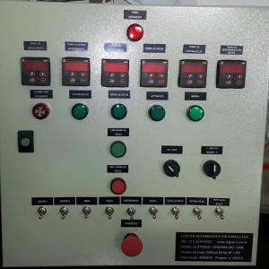 Automação de máquina de Vaccum
