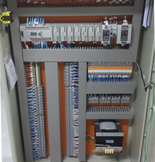 Quadro Elétrico Controle de ETA